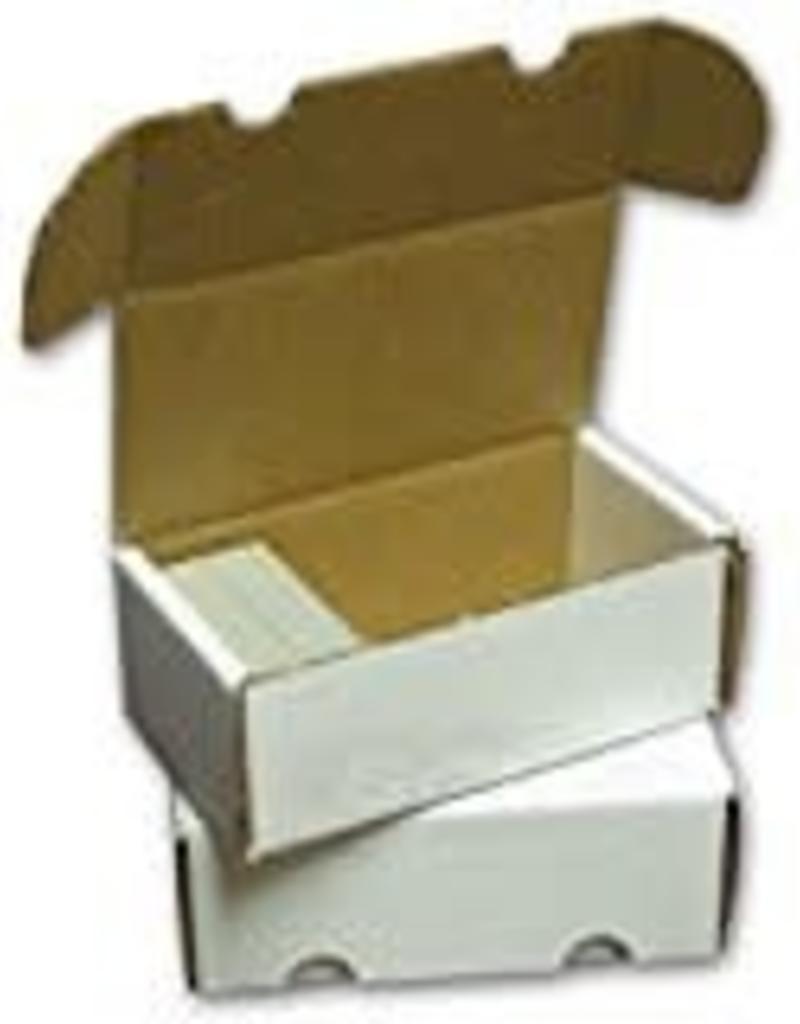 Boite de Rangement pour 400 carte - Carton Ondulé