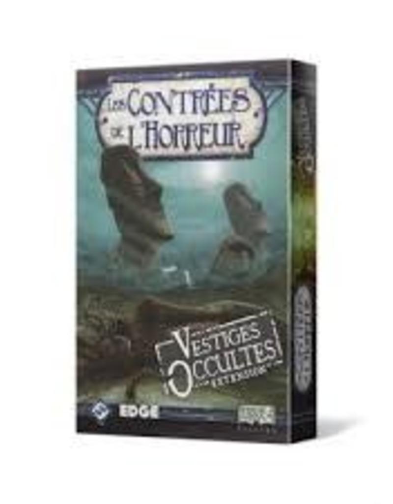 Fantasy Flight Contrée de L'Horreur: Ext. Vestiges Occultes (FR)