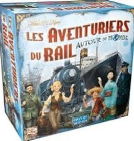 Days of Wonders Les Aventuriers du Rail - Autour du monde (FR)