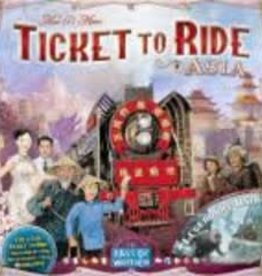 Days of Wonders Les Aventuriers du Rail: Ext. Asia