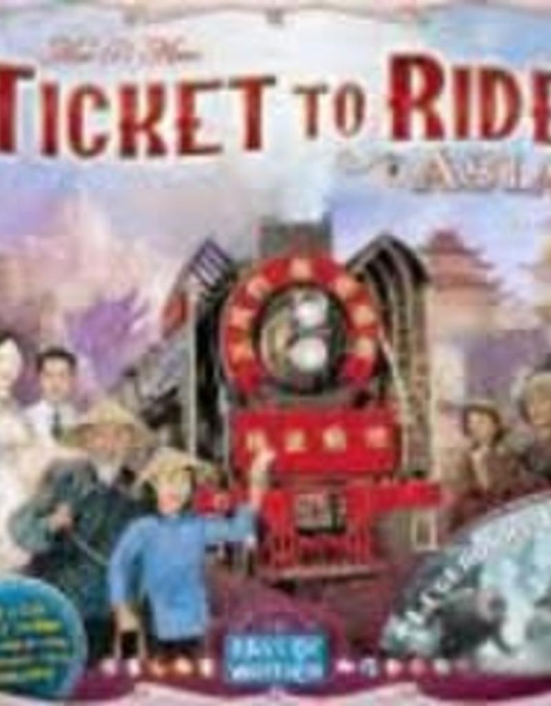 Days of Wonders Les Aventuriers du Rail: Ext. Asia