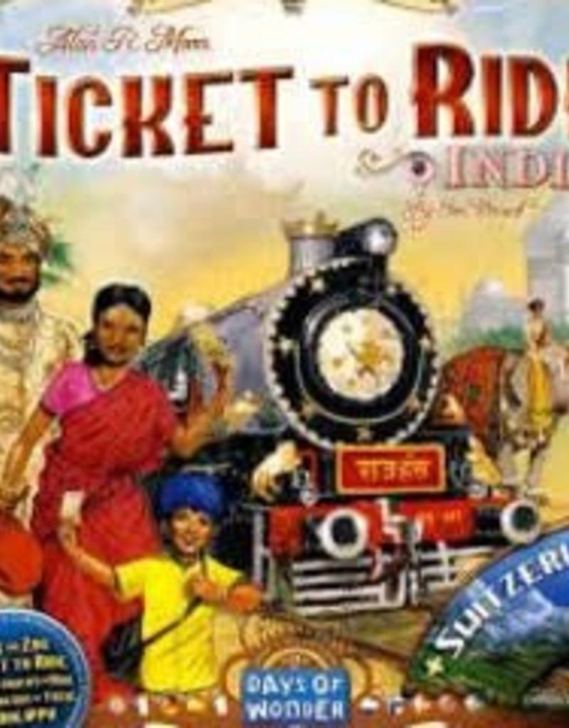 Days of Wonders Les Aventuriers du Rail: Ext. India (ML)