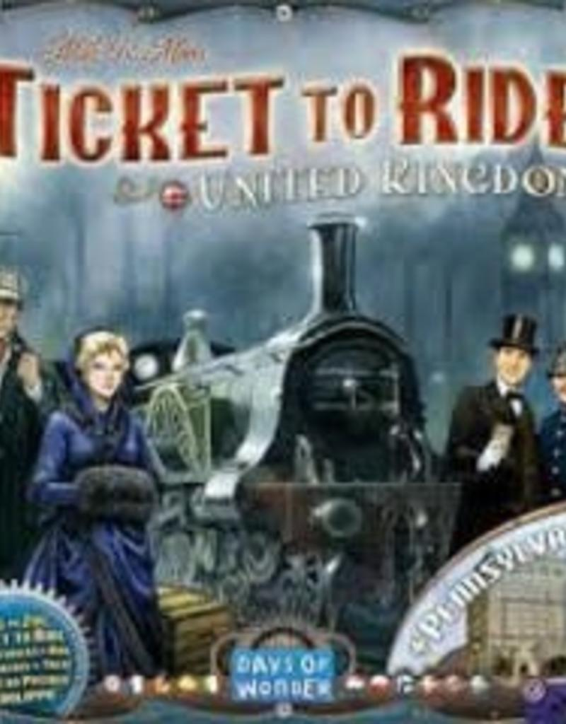 Days of Wonders Les Aventuriers du Rail: Ext. United Kingdom (ML)
