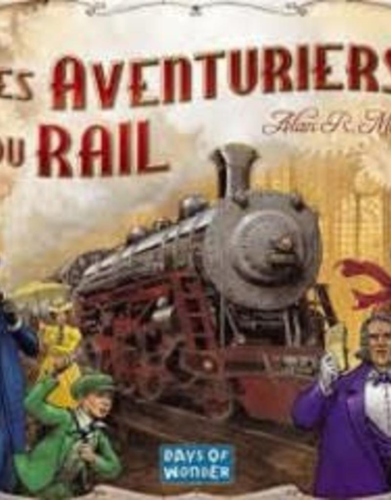 Days of Wonders Les Aventuriers du Rail: Usa (FR)