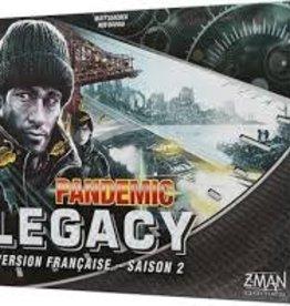 Z-Man Games Pandemic: Legacy Noir Saison 2 (FR)