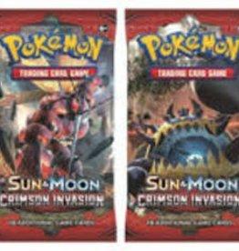 Pokemon Pokemon - Sun & Moon: Crimson Invasion Booster (EN)