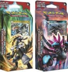 Pokemon Pokemon - Sun & Moon: Crimson Invasion Theme Deck (EN)
