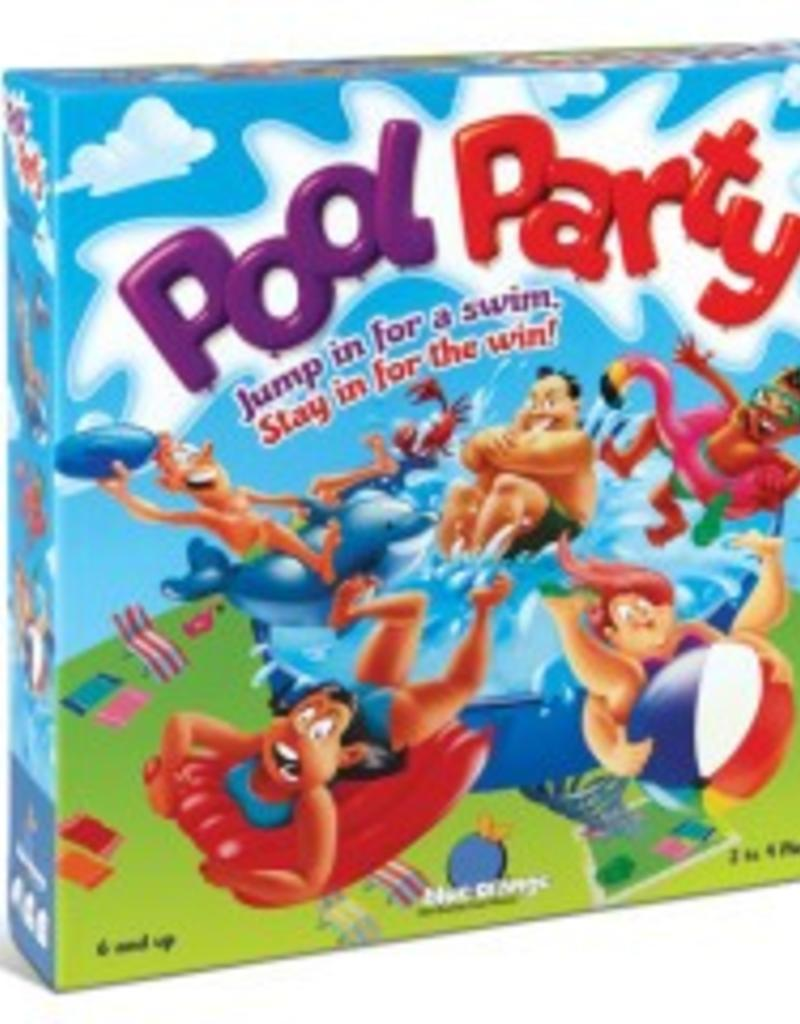 Blue Orange Pool Party