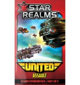White Wizard Games Star Realms: Ext. United Assault (EN)