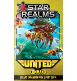 White Wizard Games Star Realms: Ext. United Command (EN)