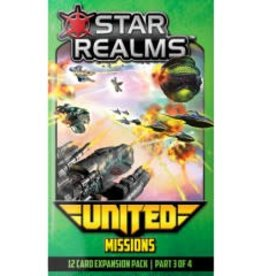 White Wizard Games Star Realms: Ext. United Missions (EN)