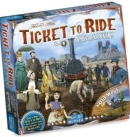 Days of Wonders Ticket To Ride : Map #6 France / Old West (ML)