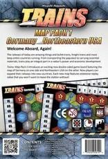 Alderac Entertainment Group Trains Map Pack 1 (EN)