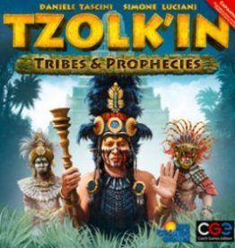 Czech Games Edition Tzolk'in the Mayan Calendar: Tribes and Prophecies (EN)