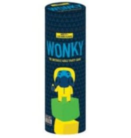 USAopoly Wonky -The Unstable Adult Party Game (EN)