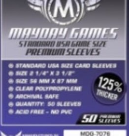 Mayday Games 7076 Sleeve «USA» 56mm X 87mm Deluxe / 50