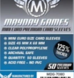Mayday Games 7080 Sleeve  «mini-euro» 45mm X 68mm Deluxe / 50