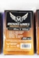 Mayday Games 7102ABC Sleeve 65mm x 100mm - rouge, bleu, et mauve - 3 paquets de 100