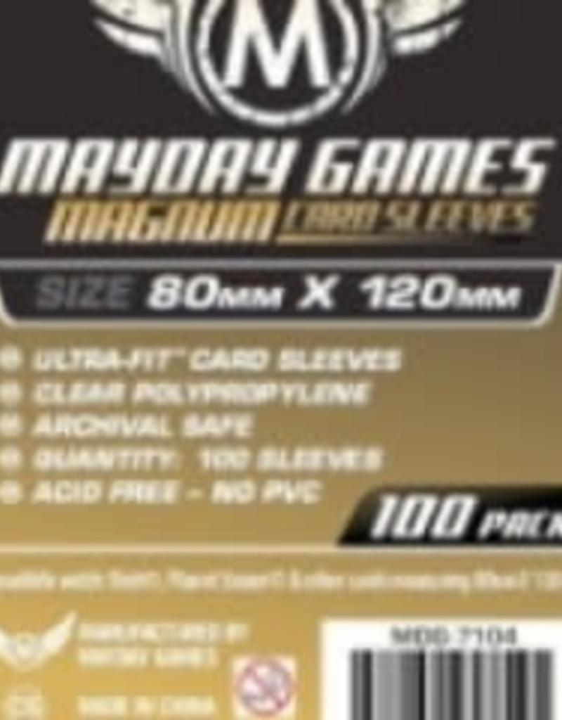 Mayday Games 7104 Sleeve «magnum gold» 80mm X 120mm / 100