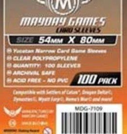 Mayday Games 7109 Sleeve «étroits» Yucatan 54mm X 80mm / 100