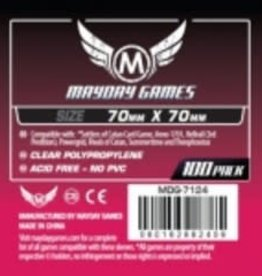 Mayday Games 7124 Sleeve 70mm X 70mm  / 100
