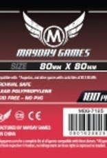 Mayday Games 7125 Sleeve carrés 80mm X 80 mm / 100
