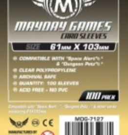 Mayday Games 7127 Sleeve «magnum Space Alert & Dungeon Petz» 61mm X 103mm / 100