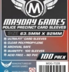 Mayday Games 7128 Sleeve «Police Precinct» 63.5mm X 92 mm / 100