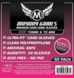 Mayday Games 7134 Sleeve 70mm x 70mm Deluxe / 100
