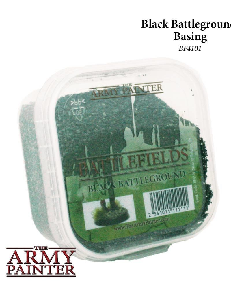 Army Painter Battlefields: Black Battleground - Basing