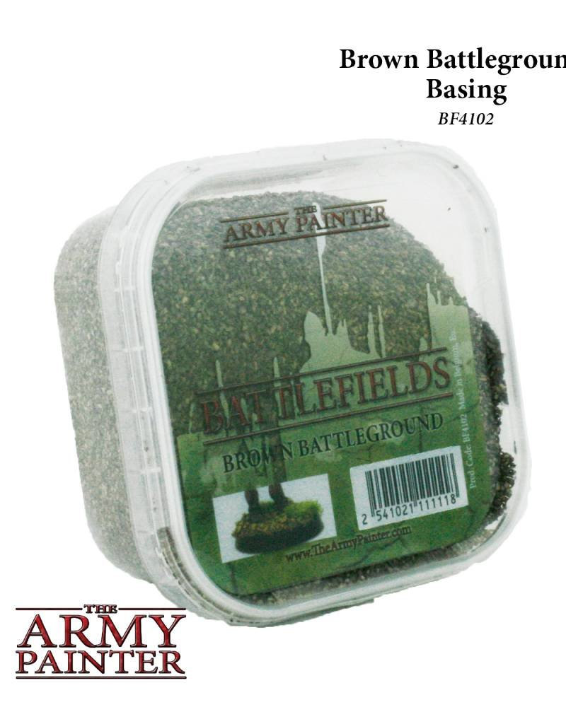 Army Painter Battelfields: Brown Battleground - Basing