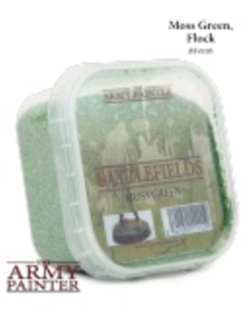 Army Painter Battlefields: Moss Green, Flock