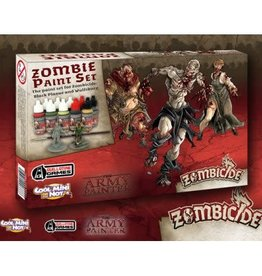 Army Painter Warpaints: Zombicide Black Plague Paint Set