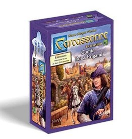 Z-Man Games Carcassonne Ext. Comte, Roi et Brigands (FR)