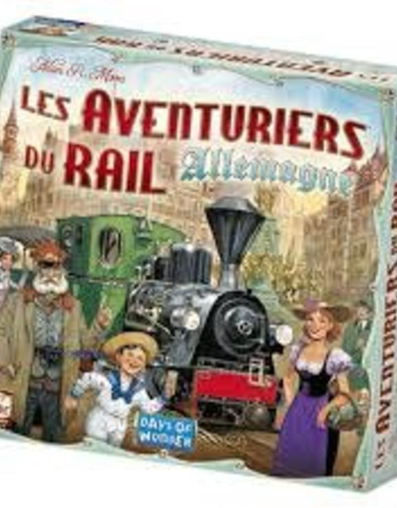 Days of Wonders Les Aventuriers du Rail: Allemagne (FR)