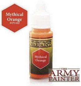 Army Painter Acrylics Warpaints - Mythical Orange