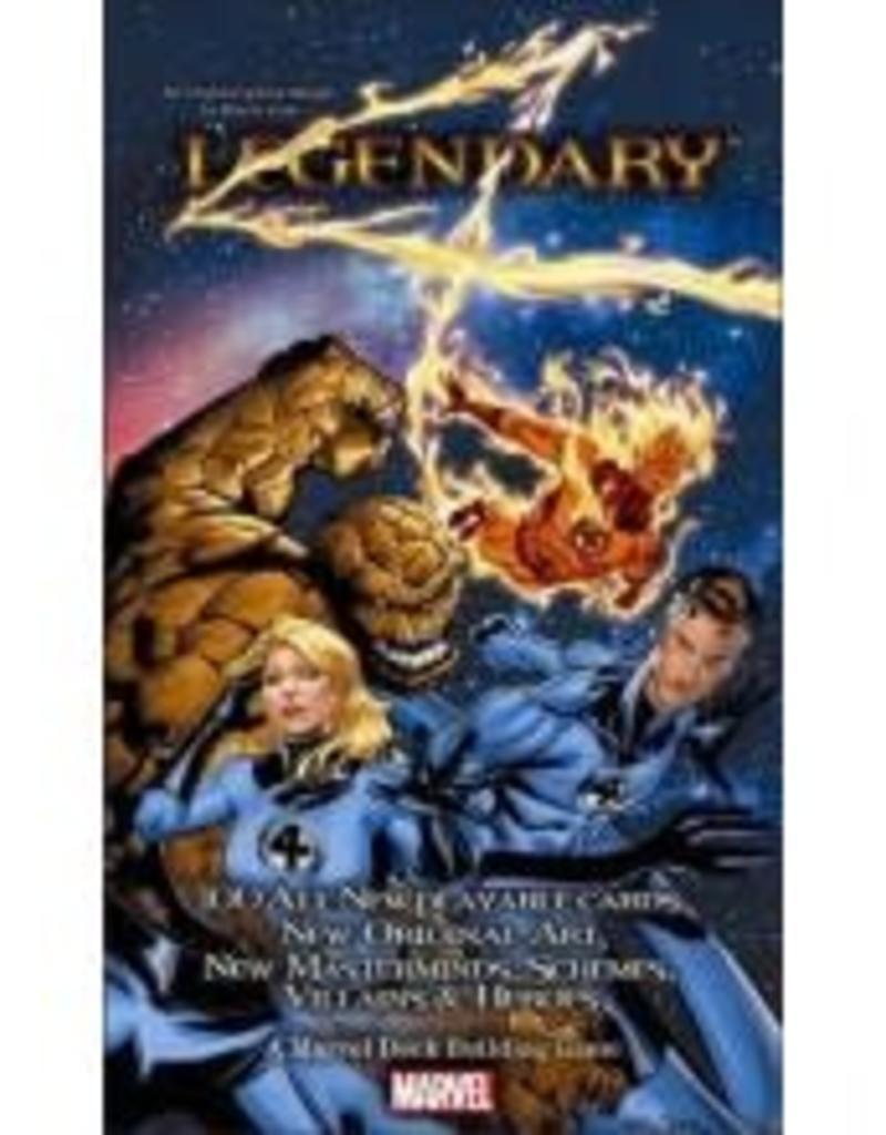 Upper Deck Marvel Legendary: Fantastic 4 Expansion (EN)