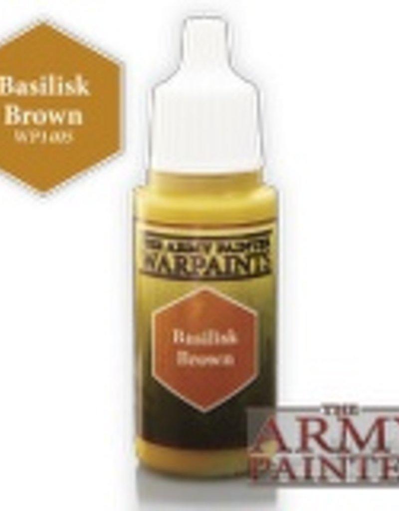 Army Painter Acrylics Warpaints - Basilisk Brown