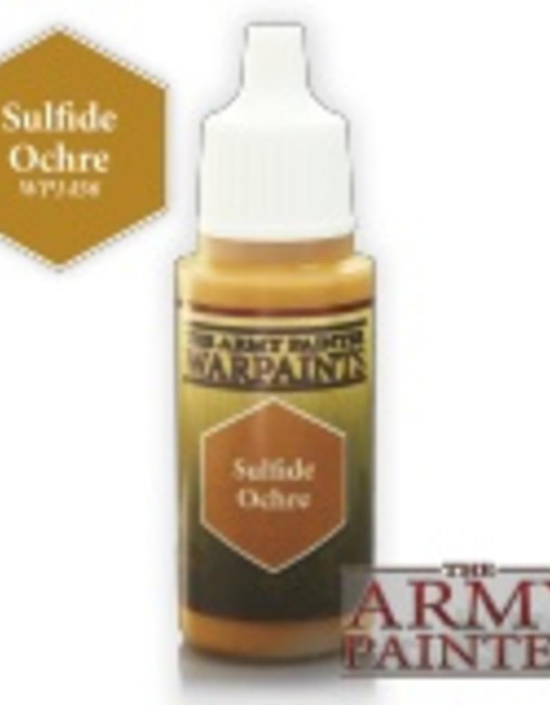 Army Painter Acrylics Warpaints - Sulfide Ochre