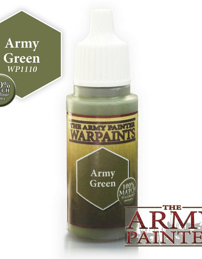 Army Painter Acrylics Warpaints - Army Green