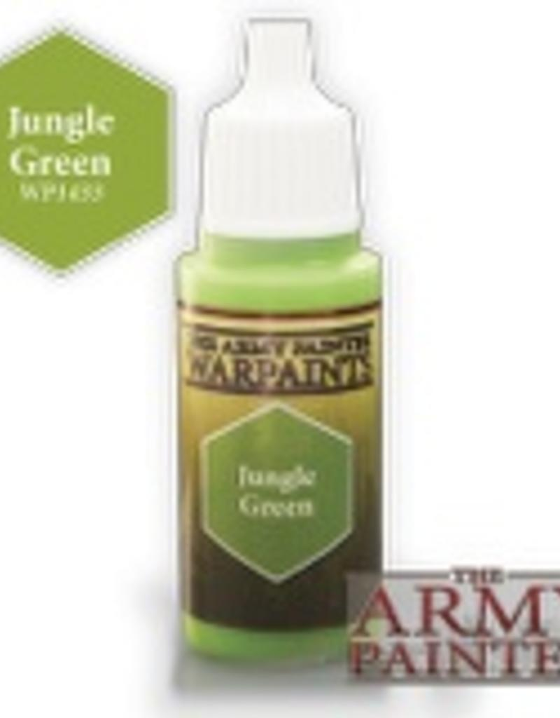 Army Painter Acrylics Warpaints - Jungle Green