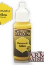 Army Painter Acrylics Warpaints - Daemonic Yellow