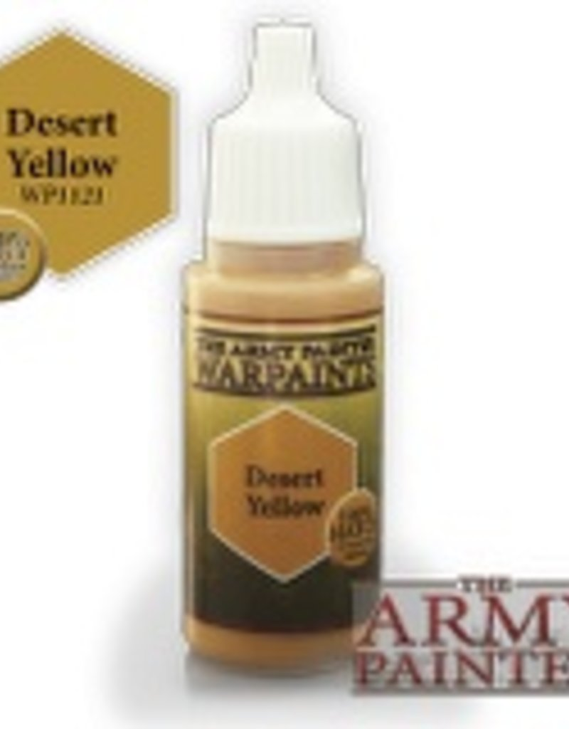 Army Painter Acrylics Warpaints - Desert Yellow
