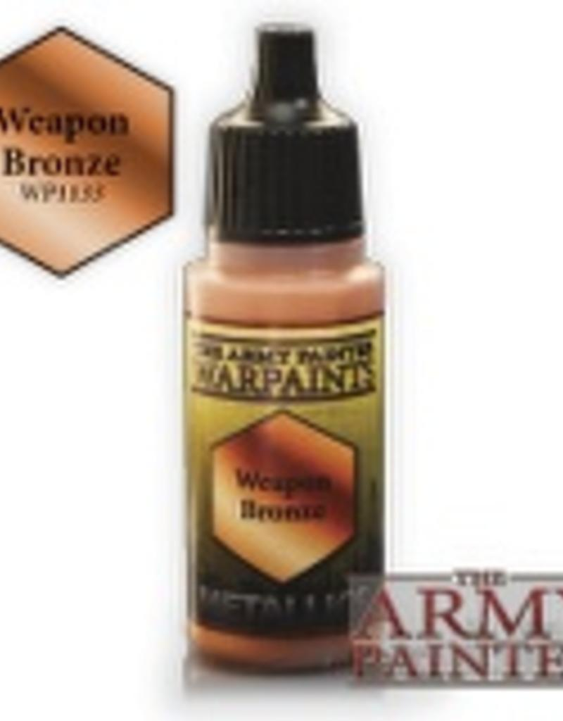 Army Painter Metallics Warpaints - Weapon Bronze