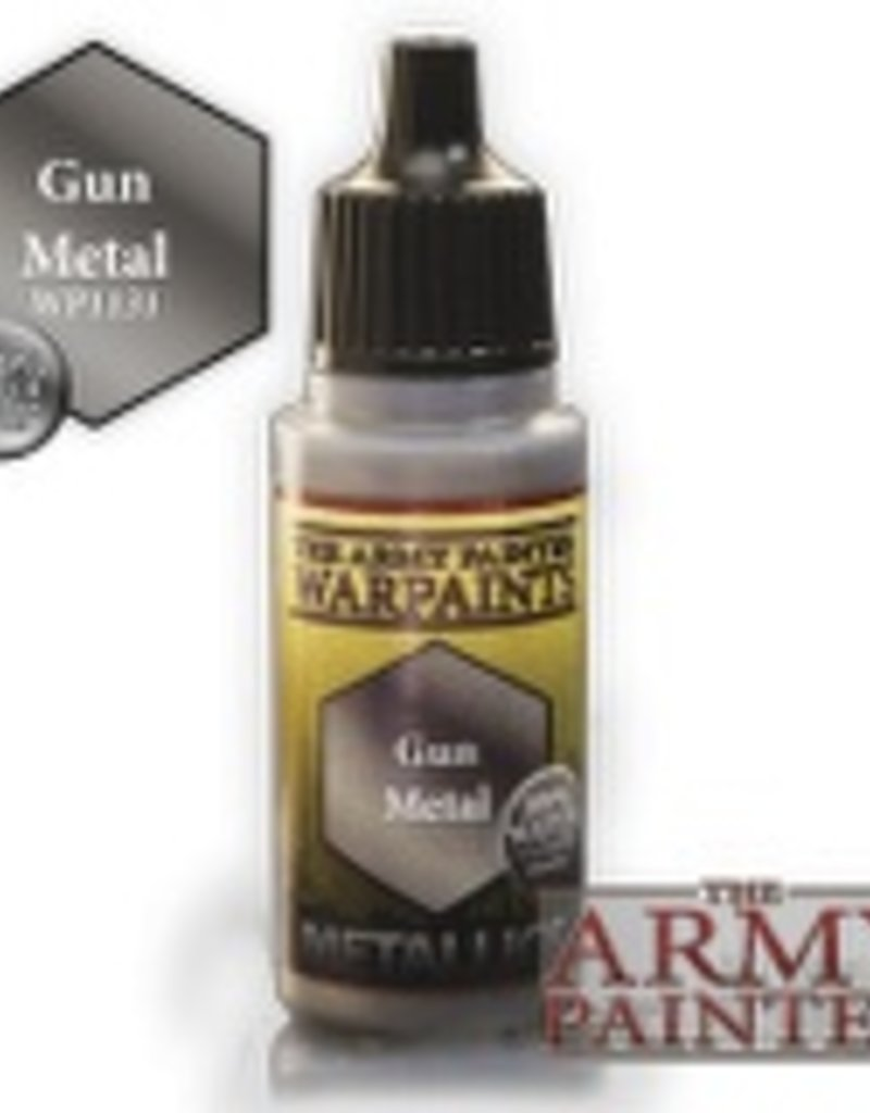 Army Painter Metallics Warpaints - Gun Metal