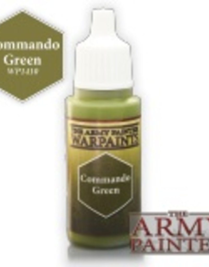 Army Painter Acrylics Warpaints - Commando Green