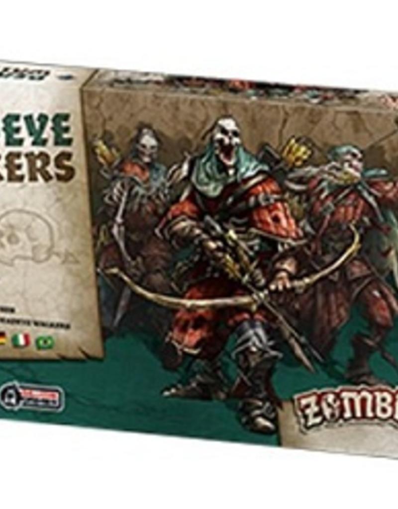 Cool Mini Or Not Zombicide Black Plague - Deadeye Walkers (ML)