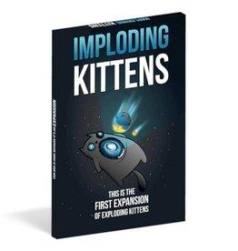 Exploding Kittens Précommande: Exploding Kittens Ext. Imploding Kittens