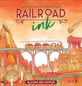 CMON Précommande: Railroad Ink: Ext. Blazing Red Edition (EN)
