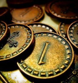 Karma games Clans of Caledonia Metal Coins (ML)